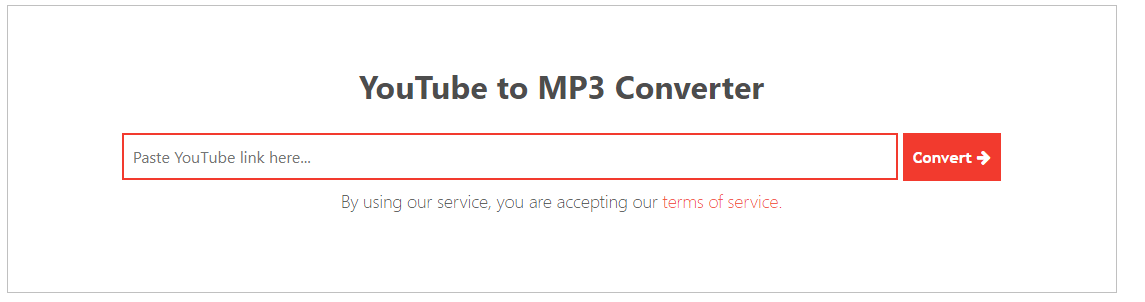 Youtube to MP3 Download