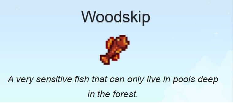 Woodskip Stardew Valley