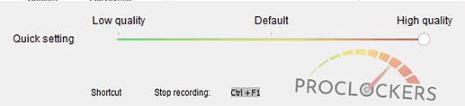 Quality slider in HD VIDEO CONVERTER SOFTWARE BY WONDERFOX